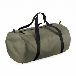 Bag base sac de voyage toile ultra leger pliant bg150 vert olive packaway barrel bag