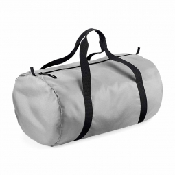 Bag base sac de voyage toile ultra leger pliant bg150 gris argent packaway barrel bag