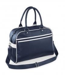 Bag base sac sport retro bowling bag bg95   bleu marine non communique
