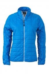 James et nicholson veste hybride molletonnee jn1115 bleu cobalt doudoune femme s
