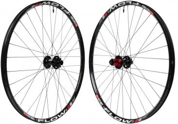NOTUBES Wheelset 26'' ZTR FLOW EX 3.30 Axles 20/15mm 9x135mm Black