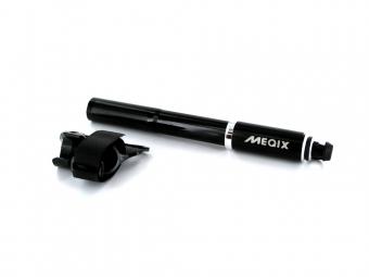 MEQIX Pompe AIRLIFT Haute Pression Route avec Indicateur Pression Noir