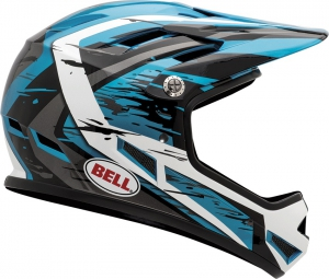 BELL 2015 Full-Face Helmet SANCTION Blue Black White