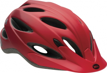 BELL 2015 Helmet PISTON Red Matt Comet
