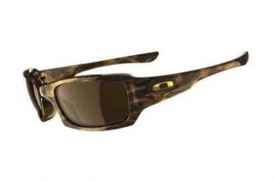 OAKLEY Paire de Lunettes Fives Squared Brown Tortoise w/Brown  Ref : 12-968