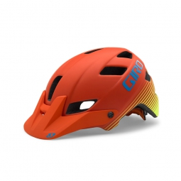 Casque Giro feature Orange Mat Jaune