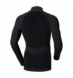 odlo maillot manches longues evolution warm zip gris xl
