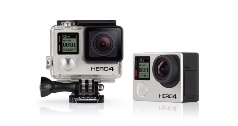 gopro camera embarquee hero4 black edition