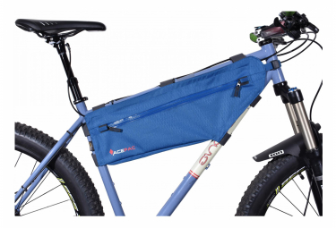 ACEPAC Zip Frame Bag L bleu