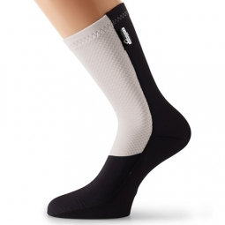 ASSOS 2015 Socks FuguSpeer_S7 White Black