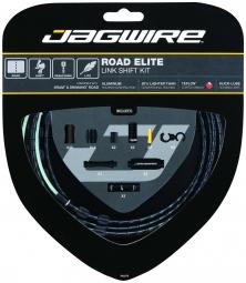 JAGWIRE Kit Complet Câbles Gaines ROAD ELITE LINK Dérailleurs Noir