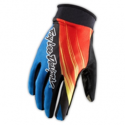 TROY LEE DESIGNS Paire de Gants ZINK Bleu/Rouge