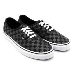VANS Pair of shoes AUTHENTIC CHECKERBOARD Black  b112ba605