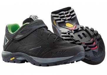 Chaussures VTT Northwave SPIDER 2015 Noir/Vert