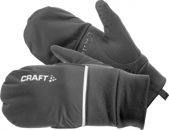Craft Hybrid Weather Gloves - Black