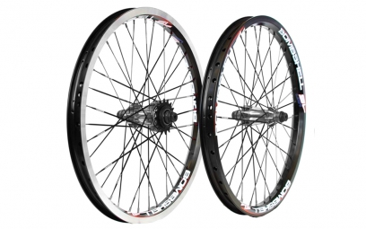 BOMBSHELL Paire de Roues STRAIGHT PULL 20x1.75´´ Noir