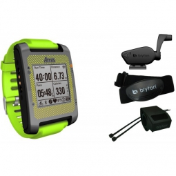 Montre GPS Bryton AMIS S630 T et Ceinture Cardiaque Noir