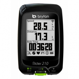 BRYTON Compteur GPS RIDER 210T