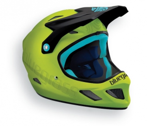 Casque integral bluegrass explicit vert cyan xl 60 62 cm