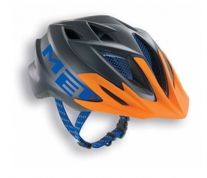Casque Met CRACKERJACK Orange