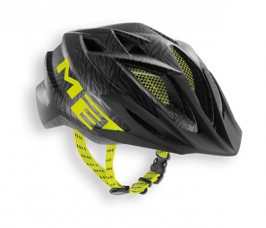 MET 2015 Helmet CRACKERJACK Black Green