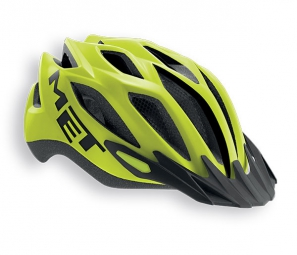 Casque Met Crossover XL Jaune Mat