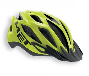 MET 2015 Helmet CROSSOVER XL Yellow Mat