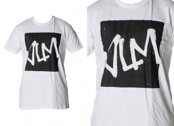 volume t shirt vlm squared blanc m
