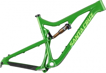SANTA CRUZ Frameset BRONSON CARBON CC 27.5'' Fox CTD Kashima 150mm Green