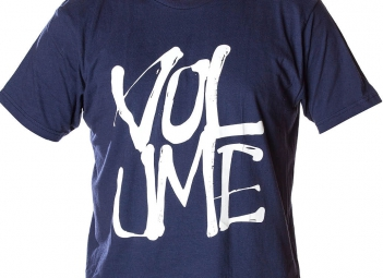 VOLUME T-Shirt STACKED Marine