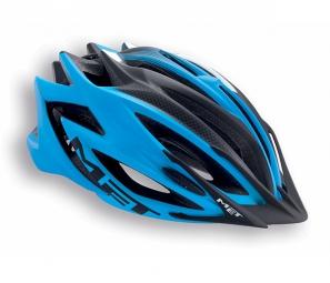 MET 2015 Helmet VELENO Cyan Mat