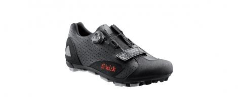 Chaussures VTT FIZIK M5 UOMO 2015 Noir/Rouge