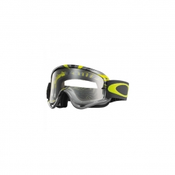Masque vtt oakley o fram mx rpm gunmetal green clear