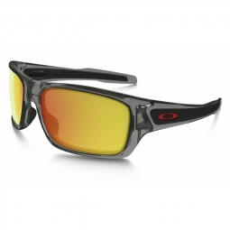 Lunettes de soleil oakley turbine grey ink ruby iridium polarized