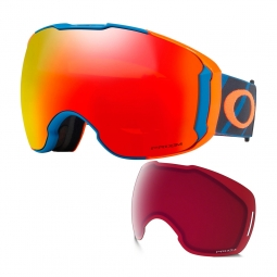 Masque oakley airbrake xl lines blue prizm torch