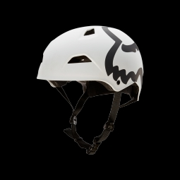 Casque de vtt fox flight eyecon hardshell white