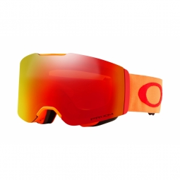 Masque ski oakley fall line orange torch iridium