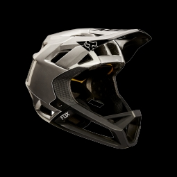 Casque de vtt fox proframe moth black silver s