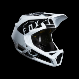 Casque de vtt fox proframe mink helmet white