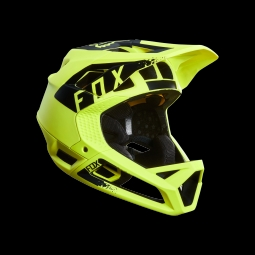 Casque de vtt fox proframe mink helmet yellow l