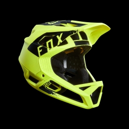 Casque de vtt fox proframe mink helmet yellow s