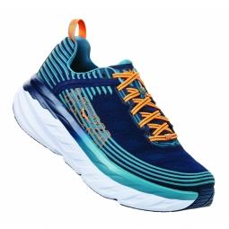 Chaussures running hoka one one bondi 6 iris blue 42