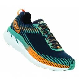 Chaussures running hoka one one clifton 5 iris 42