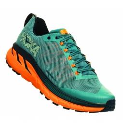 Chaussures trail hoka one one challenger 4 iris 42