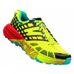 Chaussures trail hoka one one speedgoat 2 primrose 44