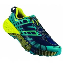 Chaussures trail hoka one one speedgoat 2 caribbean sea 42