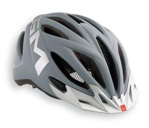MET 2015 Helmet 20 MILES Grey Silver