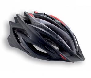 MET 2015 Helmet VELENO Black Red