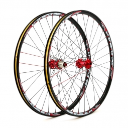 MSC 2015 Wheelset 27.5'' TRANSFORMER Disc 9mm/9x135mm Black Red