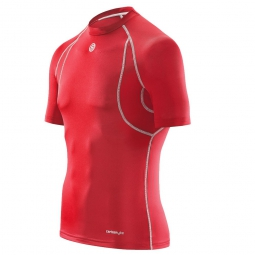maillot thermique skins carbonyte homme rouge xl